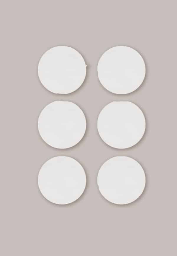 Maternity wear 6 X WASHABLE BREAST PADS – White Pitter Patter Baby NI 5