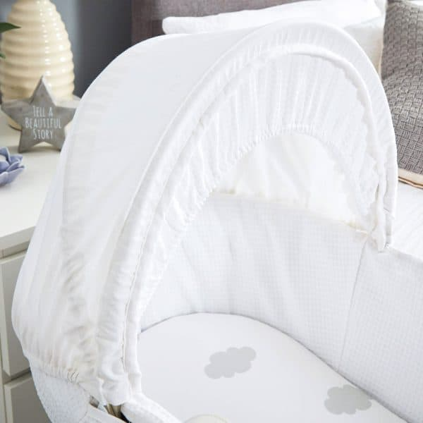 Moses Baskets & Stands Shnuggle Classic Moses Basket Pitter Patter Baby NI 5