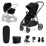 Cybex Gazelle S 7 Piece Bundle – Black Frame