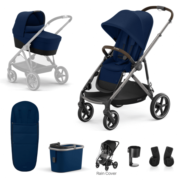 Travel Systems Cybex Gazelle S 7 Piece Bundle – Taupe Frame Pitter Patter Baby NI 4