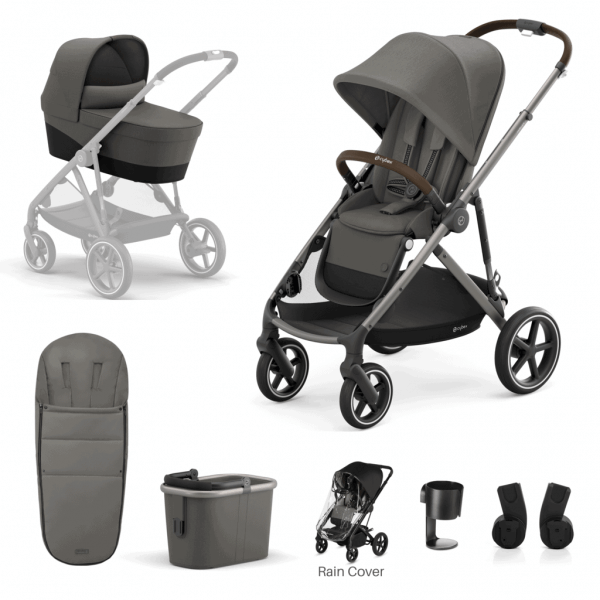 Travel Systems Cybex Gazelle S 7 Piece Bundle – Taupe Frame Pitter Patter Baby NI 6