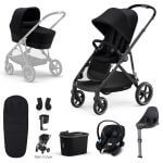 Cybex Gazelle S 9 Piece Bundle – Black Frame