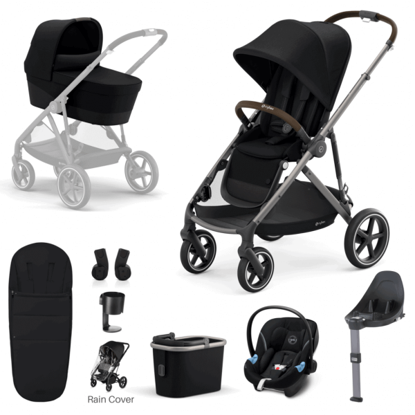 Travel Systems Cybex Gazelle S 9 Piece Bundle – Taupe Frame Pitter Patter Baby NI 8