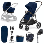 Travel Systems Cybex Gazelle S 9 Piece Bundle – Taupe Frame Pitter Patter Baby NI 2