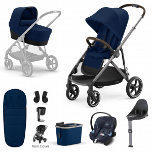 Travel Systems Cybex Gazelle S 9 Piece Bundle – Taupe Frame Pitter Patter Baby NI