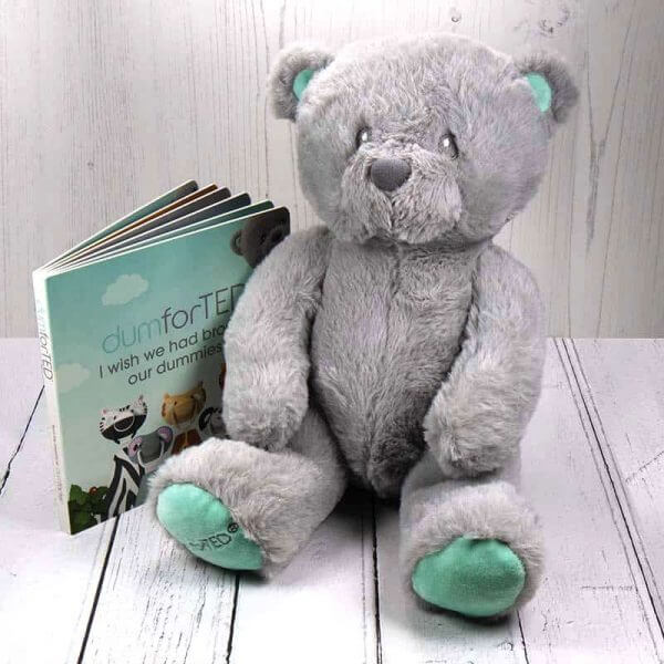 sensory toys Dumforter Ted Pitter Patter Baby NI 4