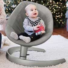 Bouncers & Rockers Nuna Leaf Grow Oxford Pitter Patter Baby NI 4