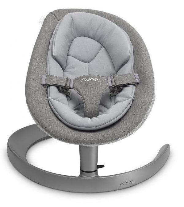 Bouncers & Rockers Nuna Leaf Grow Oxford Pitter Patter Baby NI 3