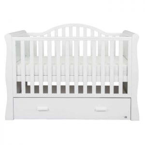 Cots, Cotbeds & travel cots Oslo Sleigh Cotbed Pitter Patter Baby NI