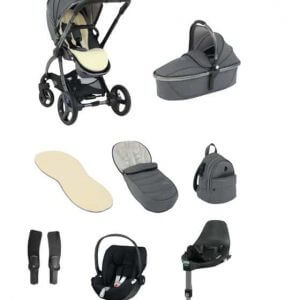 Egg Egg 2 Travel System With Cybex Cloud Z i-Size & base Pitter Patter Baby NI