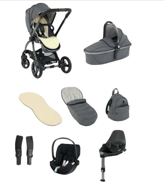 Travel Systems Egg 2 Travel System With Cybex Cloud Z i-Size & base Pitter Patter Baby NI 4