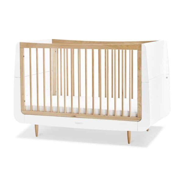 Cots, Cotbeds & travel cots SnuzKot Skandi Cot Bed Natural Pitter Patter Baby NI 5