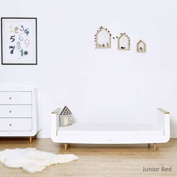 Cots, Cotbeds & travel cots SnuzKot Skandi Cot Bed Natural Pitter Patter Baby NI 6