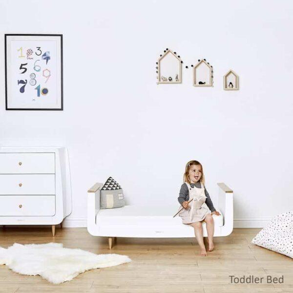 Cots, Cotbeds & travel cots SnuzKot Skandi Cot Bed Natural Pitter Patter Baby NI 7