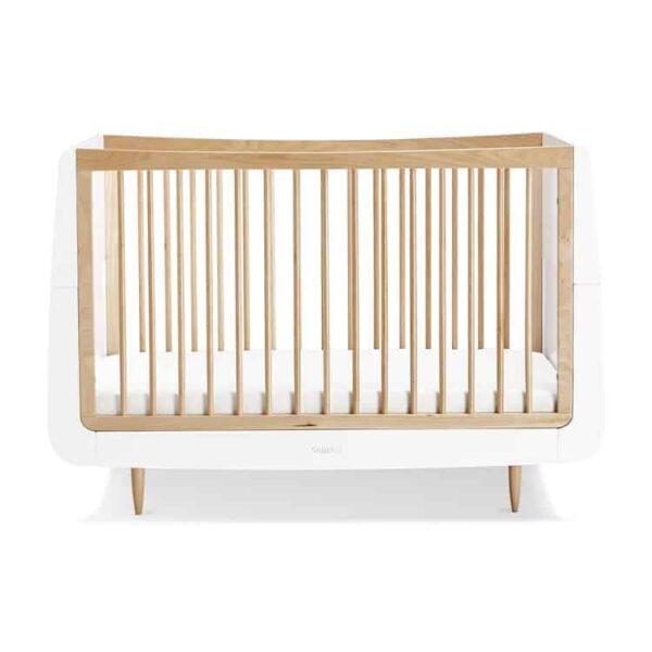 Cots, Cotbeds & travel cots SnuzKot Skandi Cot Bed Natural Pitter Patter Baby NI 9