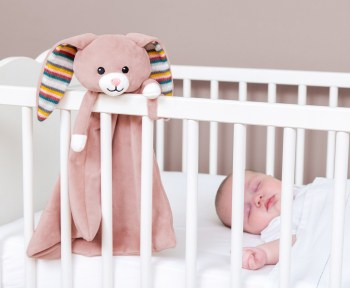 Night Lights & Cot Mobiles Baby comforter WITH HEARTBEAT SOUND Pitter Patter Baby NI 9