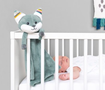 Night Lights & Cot Mobiles Baby comforter WITH HEARTBEAT SOUND Pitter Patter Baby NI 3