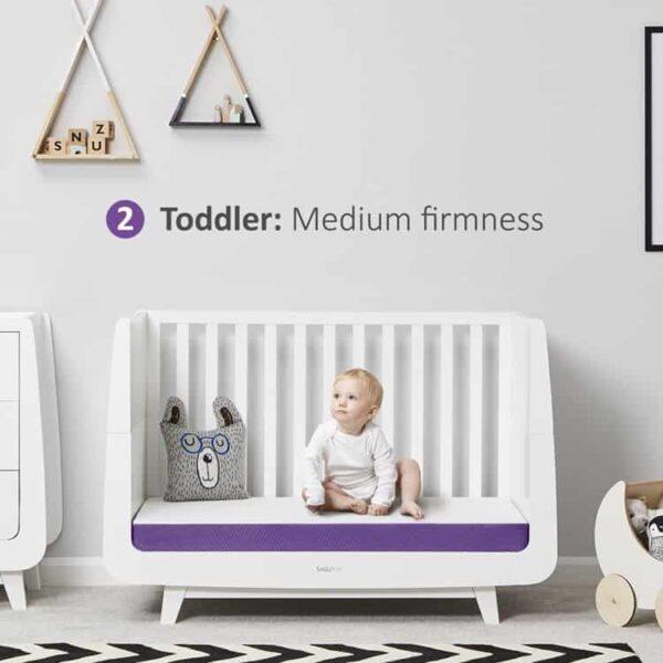 Mattresses SnuzSurface Adaptable Cot Bed Mattress SnuzKot Pitter Patter Baby NI 10
