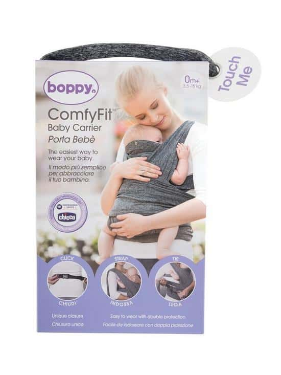 Baby Carriers Boppy ComfyFit Baby Carrier Pitter Patter Baby NI 7