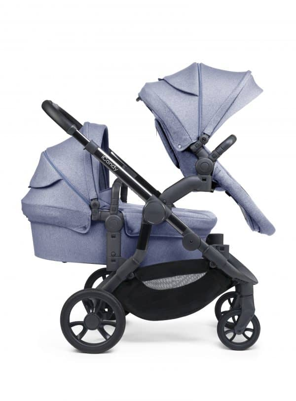 Twin & Double Pushchairs iCandy Orange Double Pitter Patter Baby NI 7