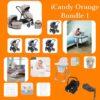 iCandy iCandy Orange Bundle with Snuzpod 4 Pitter Patter Baby NI 2