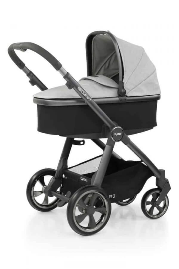 Babystyle Oyster Oyster 3 Luxury Bundle Tonic with Maxi Cosi Cabriofix & Base Pitter Patter Baby NI 4