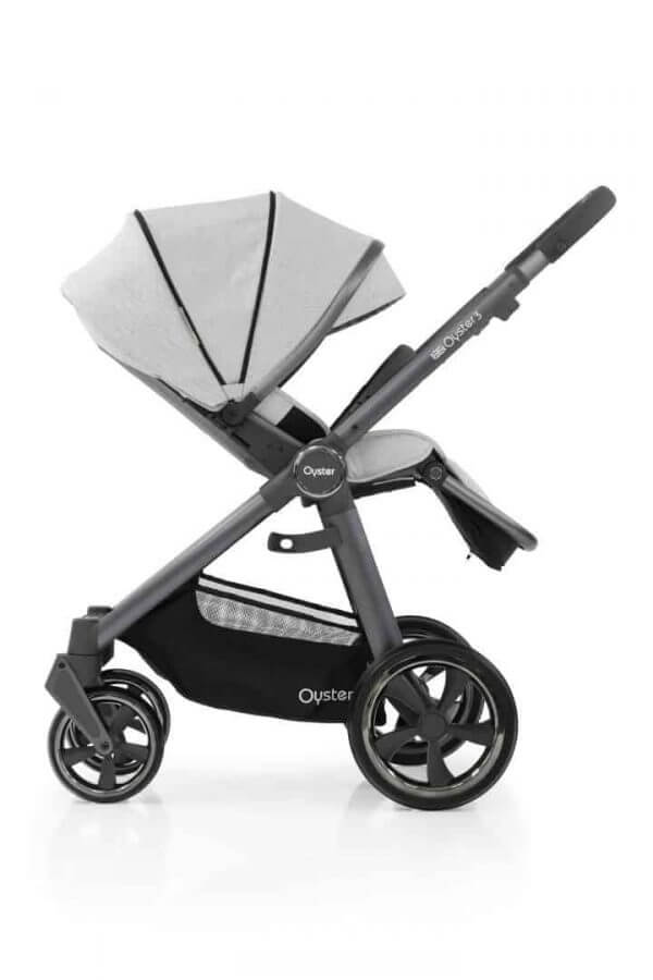 Babystyle Oyster Oyster 3 Luxury Bundle Tonic with Maxi Cosi Cabriofix & Base Pitter Patter Baby NI 5
