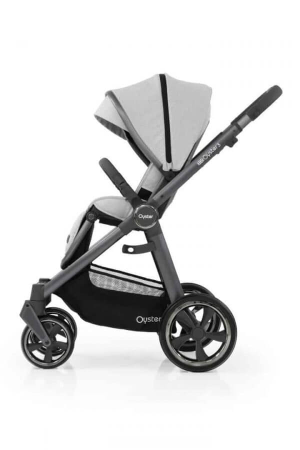 Babystyle Oyster Oyster 3 Luxury Bundle Tonic with Maxi Cosi Cabriofix & Base Pitter Patter Baby NI 6