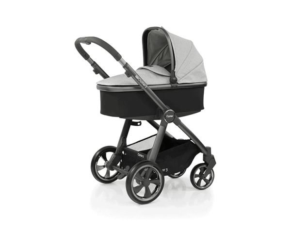 Babystyle Oyster Oyster 3 Luxury Bundle Tonic with Maxi Cosi Cabriofix & Base Pitter Patter Baby NI 9