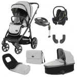 Travel Systems Oyster 3 Luxury Bundle Tonic with Maxi Cosi Cabriofix & Base Pitter Patter Baby NI 3