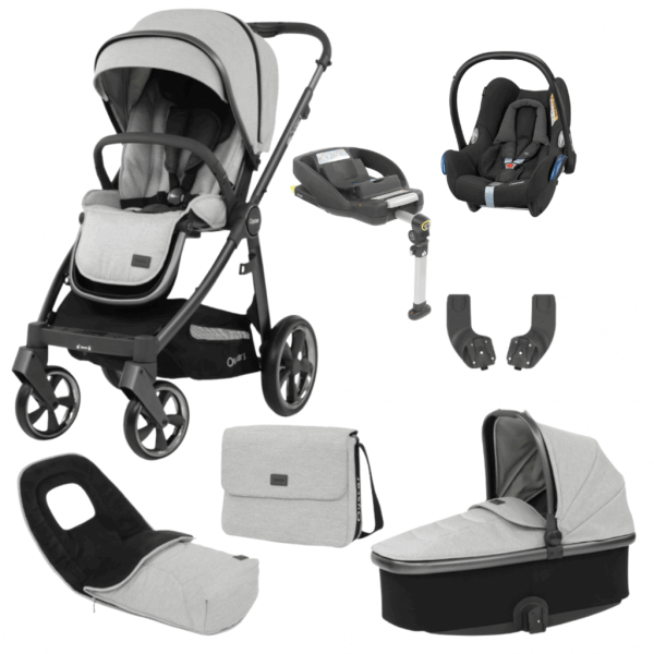 Babystyle Oyster Oyster 3 Luxury Bundle Tonic with Maxi Cosi Cabriofix & Base Pitter Patter Baby NI 3