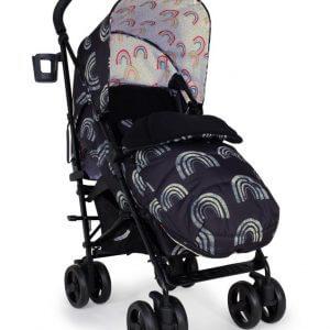 Buggies & Strollers Supa 3 Night Rainbow Pitter Patter Baby NI