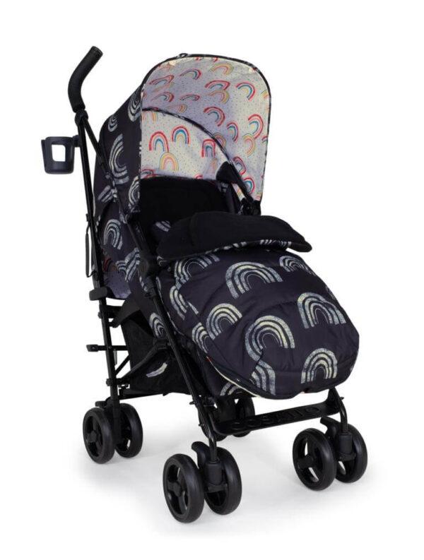 Buggies & Strollers Supa 3 Night Rainbow Pitter Patter Baby NI 4
