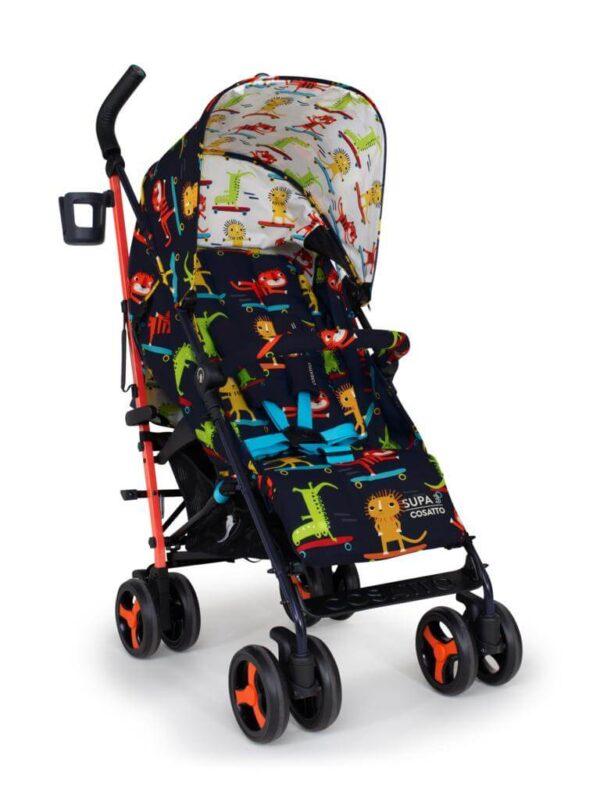 Buggies & Strollers Supa 3 Sk8r Kidz Pitter Patter Baby NI 9
