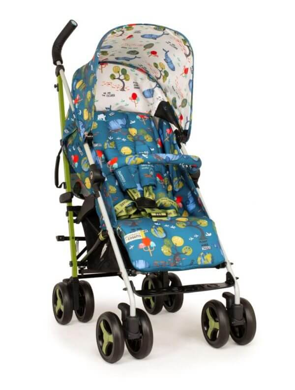 Buggies & Strollers Supa 3 Stroller One World Pitter Patter Baby NI 8