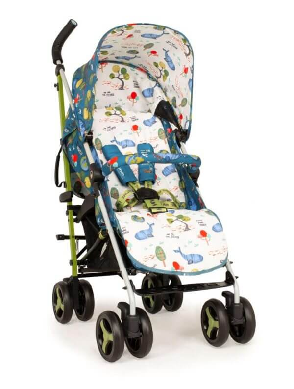 Buggies & Strollers Supa 3 Stroller One World Pitter Patter Baby NI 9