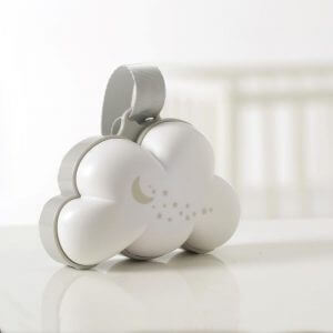 Night Lights & Cot Mobiles Dream Cloud Musical Portable Night Light Pitter Patter Baby NI