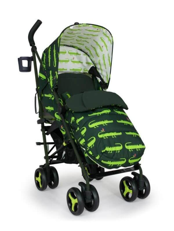 Buggies & Strollers Supa 3 Crocodile Smiles Pitter Patter Baby NI 4