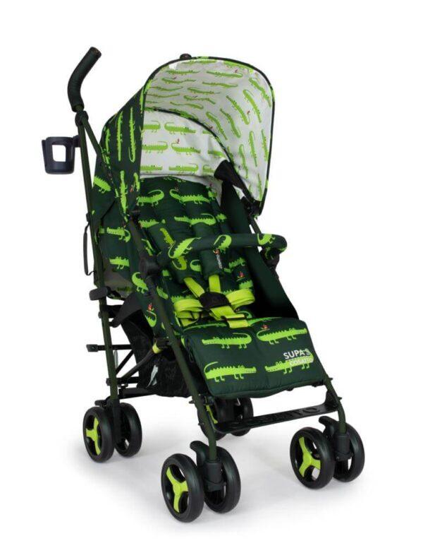 Buggies & Strollers Supa 3 Crocodile Smiles Pitter Patter Baby NI 9