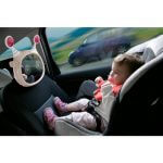 Carseat Accessories & Isofix Bases Oly Car Mirror – Beige Pitter Patter Baby NI 4