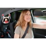 Carseat Accessories & Isofix Bases Oly Car Mirror – Beige Pitter Patter Baby NI 5