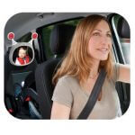 Carseat Accessories & Isofix Bases Oly Car Mirror – Grey Pitter Patter Baby NI 4