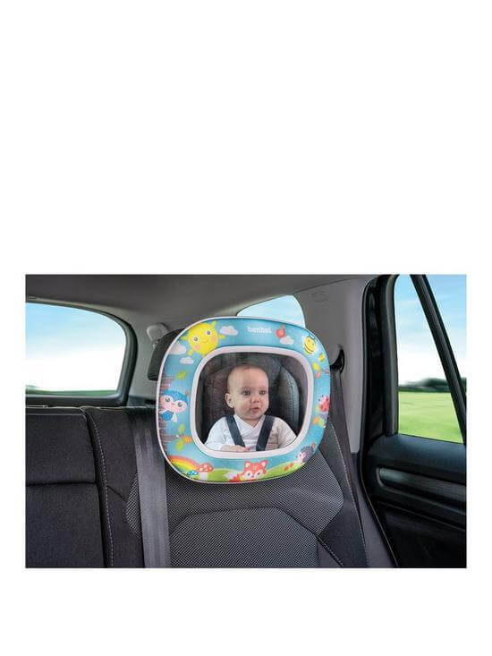 Carseat Accessories & Isofix Bases Night & Day Mirror – Forest Fun Pitter Patter Baby NI 4