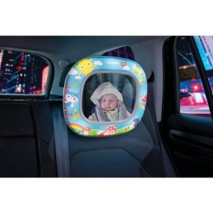 Carseat Accessories & Isofix Bases Night & Day Mirror – Forest Fun Pitter Patter Baby NI