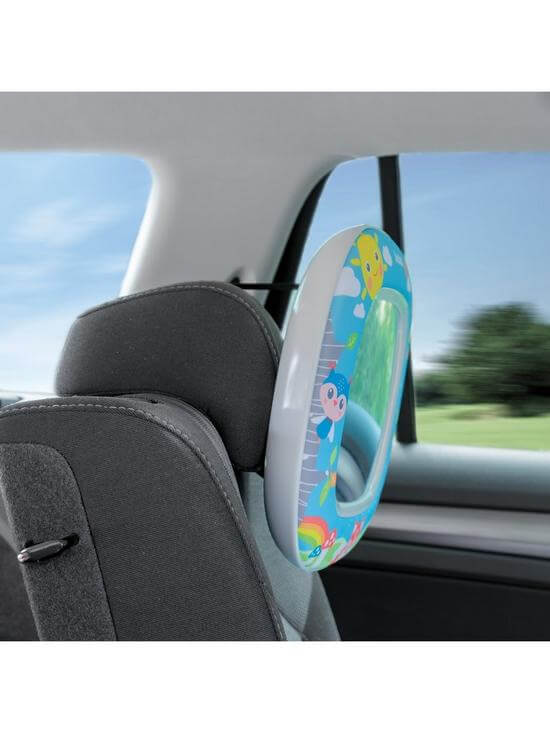 Carseat Accessories & Isofix Bases Night & Day Mirror – Forest Fun Pitter Patter Baby NI 7