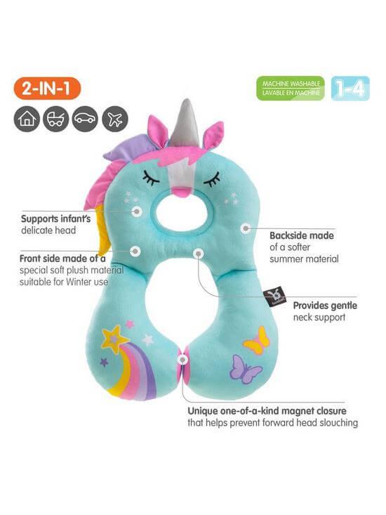 Carseat Accessories & Isofix Bases Benbat Unicorn Headrest (1-4Years) Pitter Patter Baby NI 6