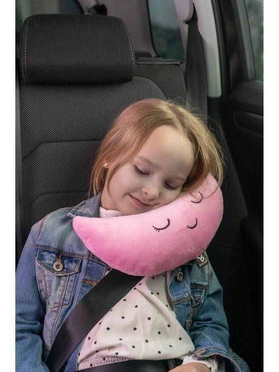Carseat Accessories & Isofix Bases Benbat Mooni Seat Belt Head Support – Pink Pitter Patter Baby NI 8
