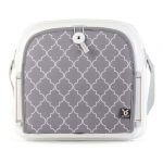 Booster Seats Benbat Yummigo Booster/Feeding Seat with Storage Compartments – Grey/White Pitter Patter Baby NI 6