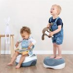 Potty Training Safety 1st 3-IN-1 POTTY Pitter Patter Baby NI 4