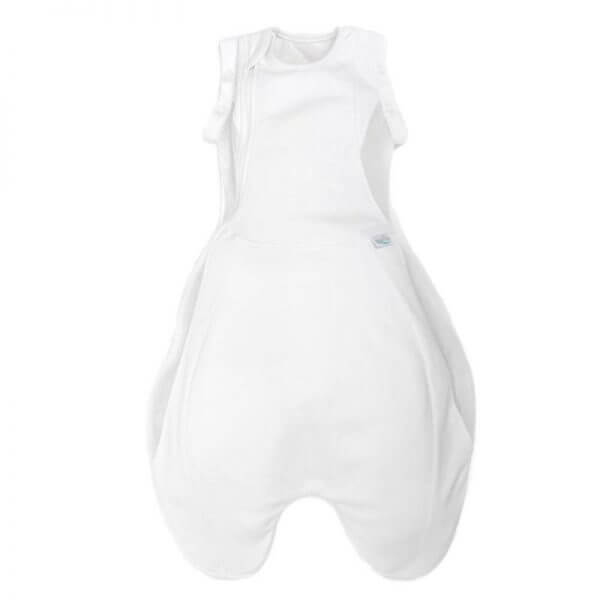 Blankets & Sleeping Bags Swaddle to Sleep Bag – Soft White Pitter Patter Baby NI 4